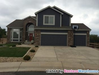 1721 Paonia Ct Castle Rock CO Home for Lease