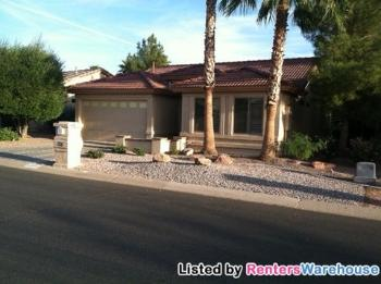 8909 E Copper Valley Ln Sun Lakes AZ House for Rent