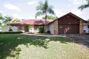 11033 Nw 2nd St Coral Springs FL Home for Rent