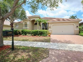 1260 Ginger Cir Weston FL  Rental Home